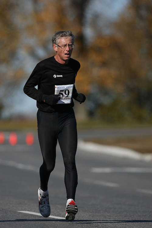 (Ottawa, ON---18 October 2008) ROGER COBBLEDICK competes in the 2008 TransCanada 10km Canadian Road Race Championships. Photograph copyright Sean Burges/Mundo Sport Images (www.msievents.com).