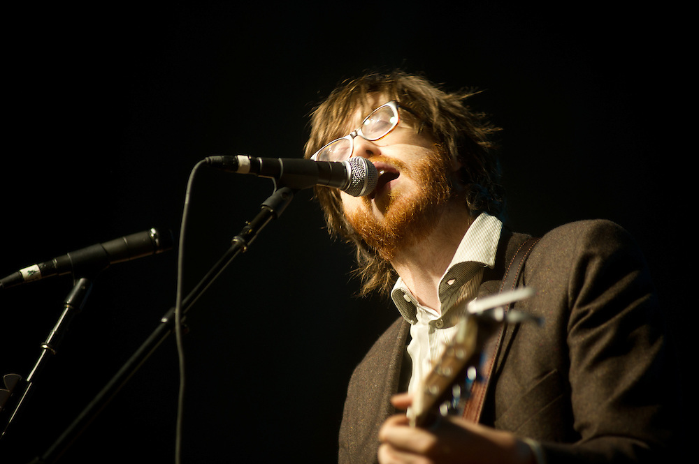 Will Sheff of Okkervil River on the Pavilion Stage @ Virgin FreeFest 2011