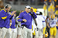 LSU Head Coach Les Miles vs. Ole Miss at Vaught-Hemingway Stadium in Oxford, Miss. on Saturday, November 19, 2011..
