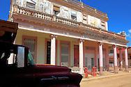 Street in Alquizar, Artemisa Province, Cuba.