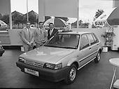 "1986 - Nissan launch new ""Sunny"" range"