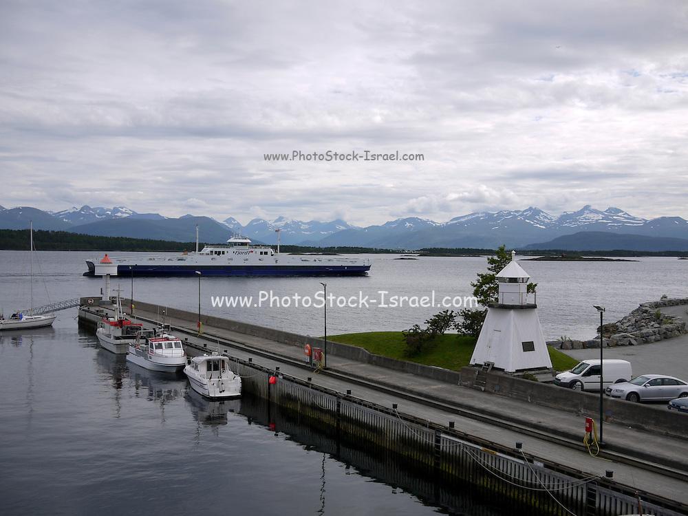 Molde, Møre og Romsdal county, Norway The Harbour