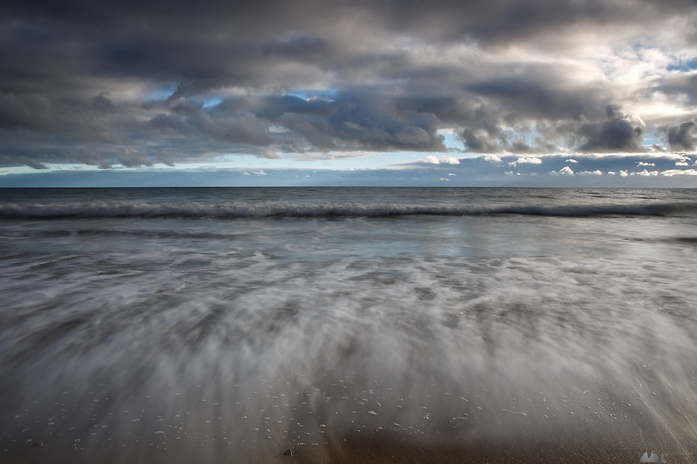 Bournemouth Beach in early December