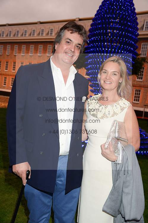 The DUKE & DUCHESS OF BEDFORD at the Masterpiece Midsummer Party in aid of Marie Curie Cancer Care held at The Royal Hospital Chelsea, London on 2nd July 2013.