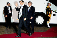24-3-2014 THE HAGUE  - Arrival of Elio Di Rupofor the NSS summit  diner at the Palace Huis ten Bosch . COPYRIGHT ROBIN UTRECHT