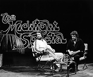 Beach Boys Brian Wilson 1979 with Wolfman Jack on Midnight Special<br /> &copy; Chris Walter