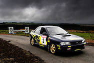 Subaru Impreza Rally experience at Knockhill..Takes place on the newly built rally track around the outside of the race circuit..Pic by Alex Hewitt.alex.hewitt@gmail.com.07789 871 540..