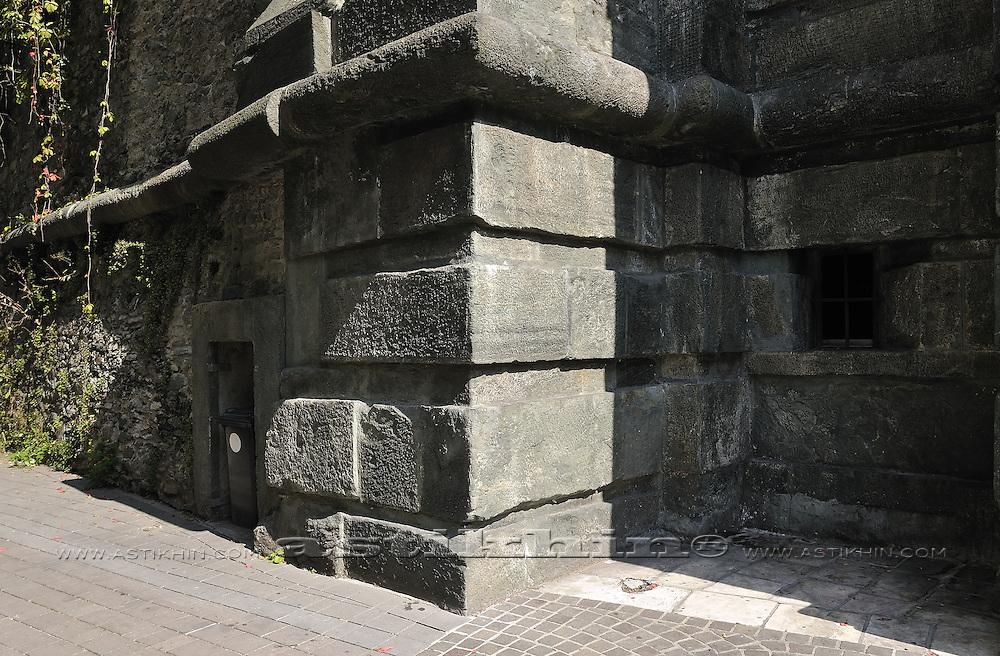 Old wall in Klagenfurt