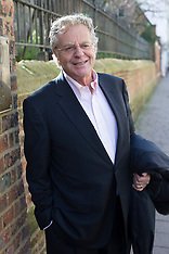 FEB 27 2014 Jerry Springer speaks at the Oxford Union