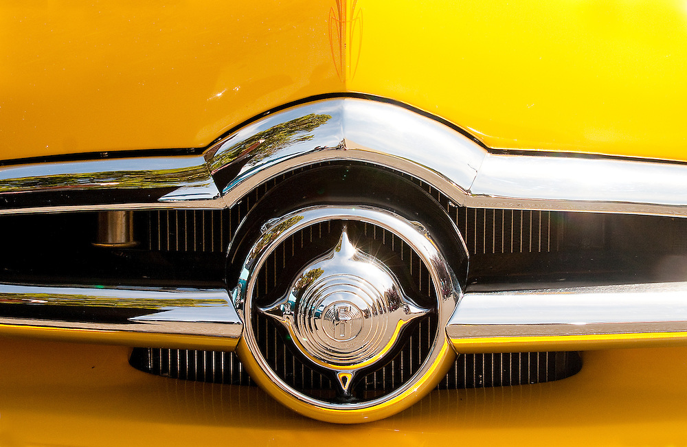 1950 Ford Coupe Grill Photo Art By David Innes