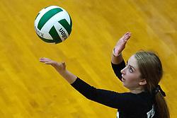 Drew Dobney at the Kuna Klassic volleyball tournament at Kuna High School, Kuna, Idaho, August 29, 2015.