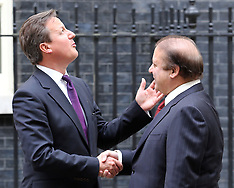 APR 30 2014 Prime Minister of Pakistan in Downing St