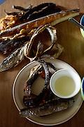 Dry fish in Newtok, Alaska. 2008