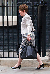 London, September 1st 2014.  Baroness Tina Stowel arrives at 10 Downing Street as ministers meet prior to David Cameron's address to Parliament on the raised level of threat from Islamist terrorism. PAYMENT/CONTACT DETAILS: paul@pauldaveycreative.co.uk Te' +44 (0) 7966 016 296 or +44 (0) 208 969 6875
