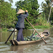 Cai Rang (Cái Răng) floating market is the main wholesale floating market near Can Tho. It starts early in the morning.