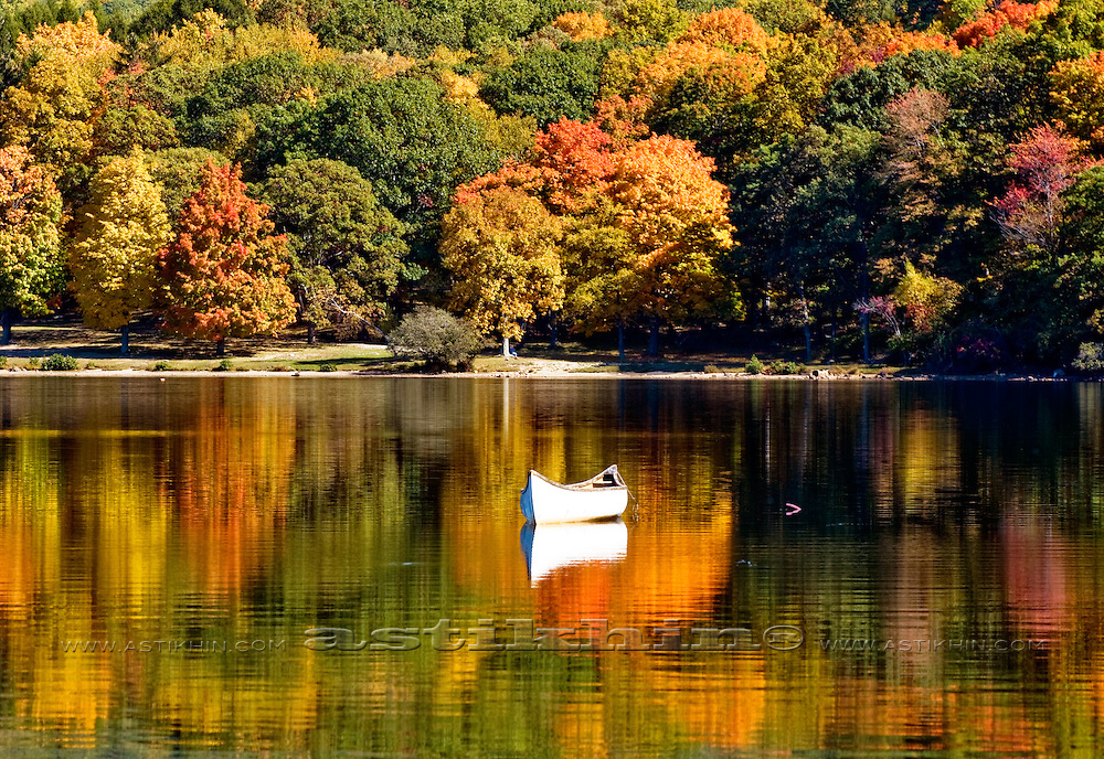 Fall reflection on the lake