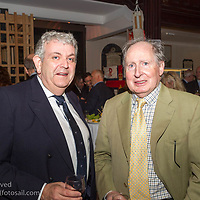 (l to r) Eddie Totterdell and Brendan Finnane attending the official launch of Volvo Dún Laoghaire Regatta 2017 in the National Maritime Museum of Ireland on Wednesday evening. The Regatta will be among the biggest mass-participatory sporting event in Ireland this year (eclipsed for numbers only by the city marathons).