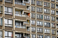 UK. London. Tower Hamlets. Regeneration of an area of Bow in East London. Photos show the old tower blocks and estates, some of which are due for renovation and demolition. .Photo©Steve Forrest/Workers' Photos.