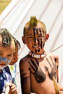 Kids, Indians, Native Americans, Battle of the Little Bighorn Reenactment, Montana