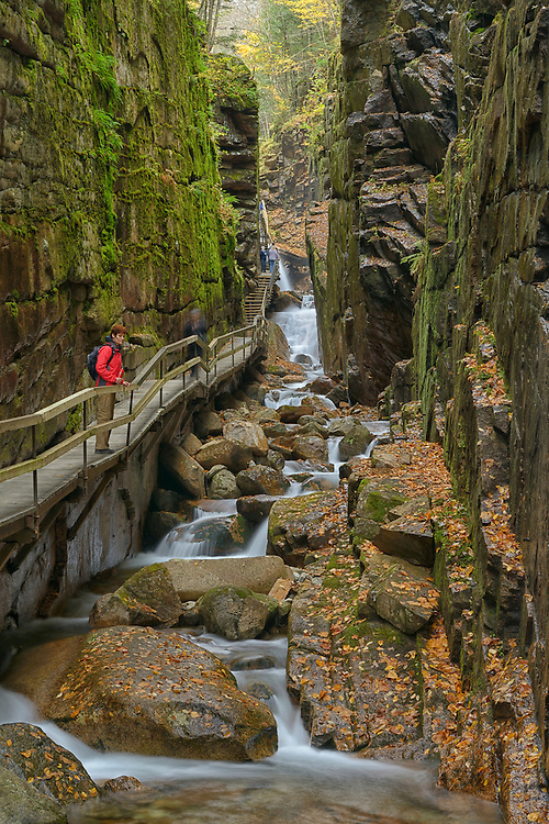 Franconia Notch State Park, White Mountains,Grafton County, New England, East Coast, USA,.Model release 0038