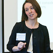 Alexandrea Ravenelle, Marketing & Communications Consultant speaking on Volunteer Communications at the Volunteer Management for Nonprofits Conference on .March 25, 2011 in New York. The event was presented by Volunteer Management Group.