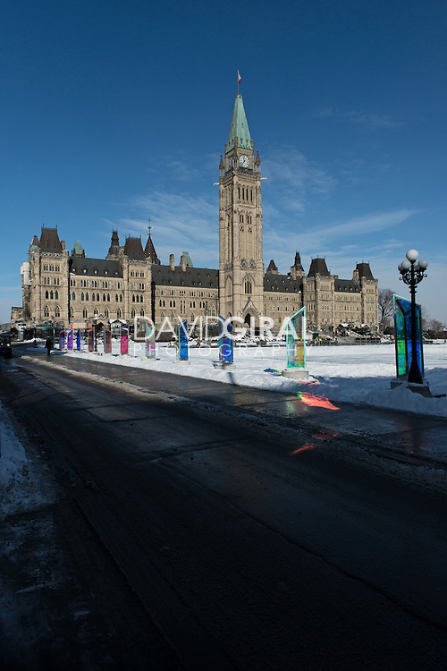 Center Block Building - Parliament Hill Ottawa