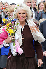MAR 19 2014 Prince of Wales and Duchess of Cornwall visit Yalding in Kent