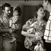 Photo essay about some of the men and women living and battling the ravaging and horrific effects of AIDS, at the Bailey-Boushay House, an AIDS Hospice, in Seattle, WA., from June 1992 to April 1995.<br /> <br /> Opened in June 1992, B.B.H. was developed by AIDS Housing of Washington as the first new nursing care residence and day health program in America for HIV/AIDS patients.<br /> <br /> Our purposes were to humanize AIDS, to compel the viewer to say &quot;this could be me,&quot; and to educate those who did not see the disease and its victims face to face; and to show the dignity and loving care that the B.B.H. community - the staff, volunteers, and families - provided to people living with AIDS in their final stages of life. &quot;It provides a respectful place for a major passage in life,&quot; said Administrator Christine Hurley.<br /> <br /> It gave us immense satisfaction that the portraits gave many of the clients a new sense of self esteem as they still felt worthy and important to be photographed, and that they trusted us to tell their story and share it.
