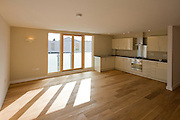 First floor flat kitchen/living room