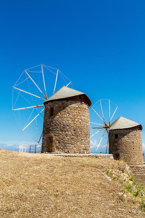Windmills On Patmos