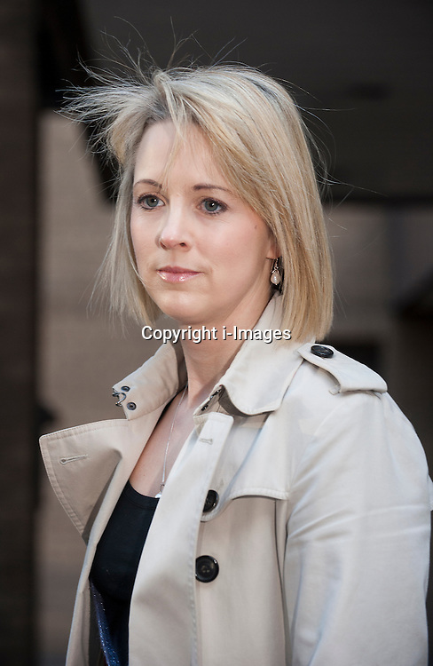Sunday times journalist Isabel Oakshott  appearing to give evidence in the trial of Vicky Pryce at Southwark Courts, London, UK, February 7, 2013. Photo by i-Images