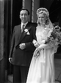 1952 Wedding of Mr. James Duffy and Mrs Murphy at St Michael's Church