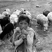 Black and White - Peru