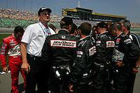 Helio Castroneves, Kansas Lottery Indy 300, Kansas Speedway, Kansas City, KS USA 7/2/2006