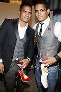 Shane Ward and Shawn Ward at 'Spring on Mulberry Block Party'  celebration for Shane and Shawn Shoes sponsored by Bombay Sapphire and held at The Shane & Shawn Store in New York City on May 7, 2009
