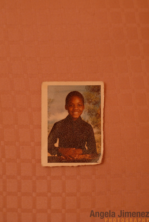 DATE: 11/30/06<br /> DESK: METRO<br /> SLUG: DORISMOND<br /> ASSIGN ID: 30034202A<br /> <br /> This is a copy photo of Patrick Dorismond at the age of 5, seen here in school photo. Dorismond was 26-years-old when he was killed by undercover New York City Police narcotics detective Anthony Vasquez during a drug buy-and-bust operation on March 16, 2000. Vasquez was acquitted of all charges related to the killing of Dorismond's son. <br /> <br /> copy photo by Angela Jimenez for The New York Times<br /> copy photo courtesy of Dorismond's family<br /> photographer contact 917-586-0916