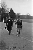 1963 - Japanese minister Yujiro Iseki presents his credentials at Aras