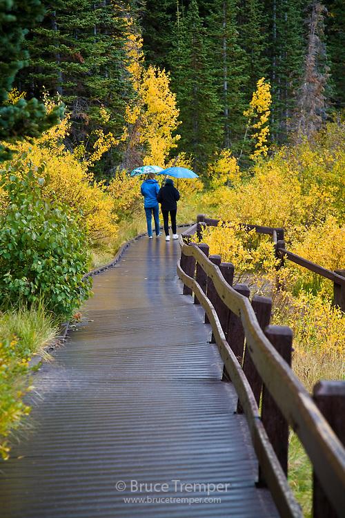 Susi and Jirina Hauser, Silver Lake, Big Cottonwood Canyon, Utah