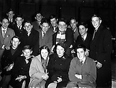 """1954 - Recording of Radio Eireann programme """"It's All Yours"""""""