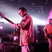 COLUMBIA, MD - July 22nd, 2012 - Jim Orso, Alexis Taylor and Rob Smoughton of Hot Chip perform at Merriweather Post Pavilion in Columbia, MD. The band released their fifth studio album, In Our Heads, in April.  (Photo by Kyle Gustafson/For The Washington Post)