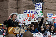Stop Dirty Coal Rally, Austin, Texas