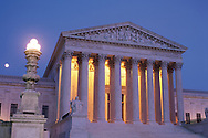 District of Columbia, United States Supreme Court Building, built 1929-1935, designed by architect Cass Gilbert, These United States Page.93