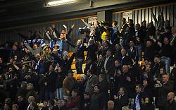 Bristol Rovers celebrate - Mandatory byline: Neil Brookman/JMP - 07966 386802 - 30/10/2015 - FOOTBALL - The Abbey Stadium - Cambridge, England - Cambridge United v Bristol Rovers - Sky Bet League Two