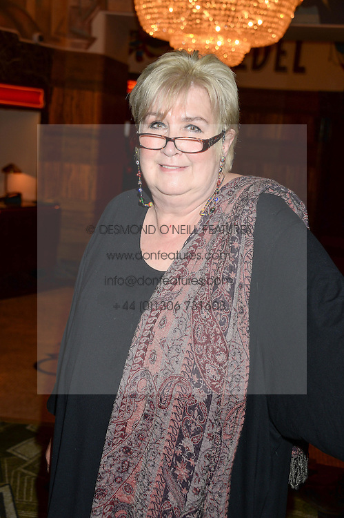 DAME JENNI MURRAY at a first night of Celia Imrie's show Laughing Matters held at The Crazy Coqs, Brasserie Zedel, 20 Sherwood Street, Piccadilly, London on 17th September 2013.