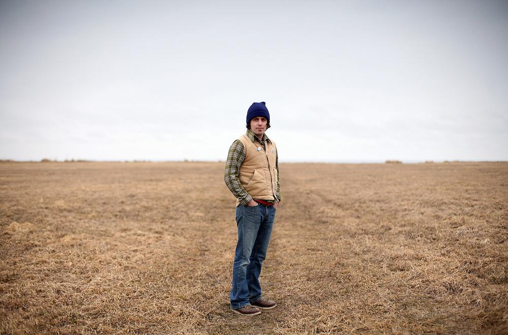 Musician Evan Phillips in Alaska. 2009