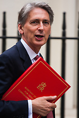 2014-08-13 Foreign Secretary Philip Hammond arrives at Downing Street for COBR meeting