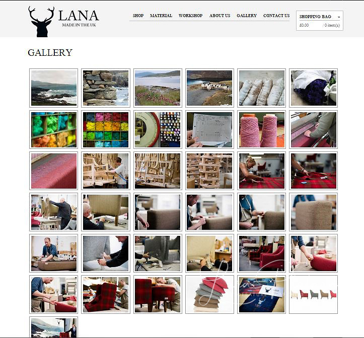 Lana Home website