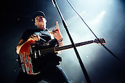 Tom DeLonge/Blink 182 performing live at the Rockhal concert venue in Luxembourg, Europe on July 14, 2012