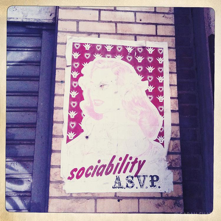Sociability A.S.V.P.
