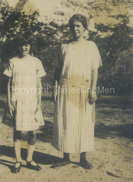 Christine Wilson and her Mother Claribel.